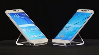 Here Are Samsung's Fancy New Galaxy S6, S6 Edge Phones