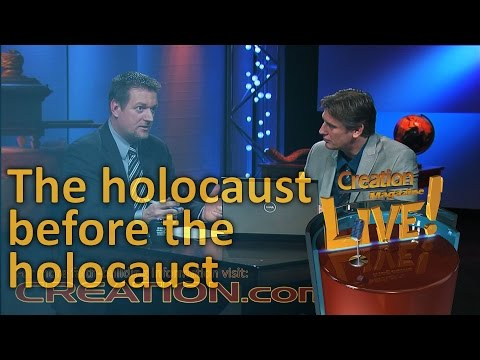 The holocaust before the holocaust (Creation Magazine LIVE! 4-06)
