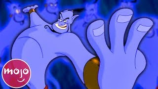 Video Top 10 Genie Moments in Aladdin MP3, 3GP, MP4, WEBM, AVI, FLV Juli 2019