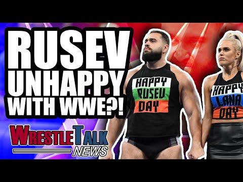 CM PUNK Future REVEALED! Rusev Unhappy In WWE?! | WrestleTalk News Nov. 2018