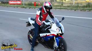 7. BMW S1000RR HP4 2016 - BMW Motos, 2016 BMW s1ooorr Street Fighter Bike Sounds, Akrapovic Sounds,