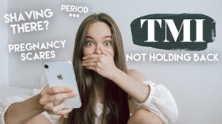 TMI Hair Removal, Pregnancy Scares, Period Intimacy? || Girl Talk by Chelsea Crockett