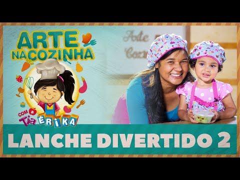 LANCHE DIVERTIDO 2 | Arte na cozinha com a Tia Érika