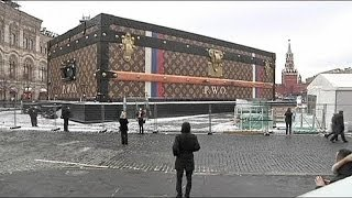 Russia: Muscovites outraged over Louis Vuitton exhibition in Red Square