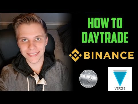 How To Day Trade Cryptocurrencies on Binance  | Altcoin Trading 2018