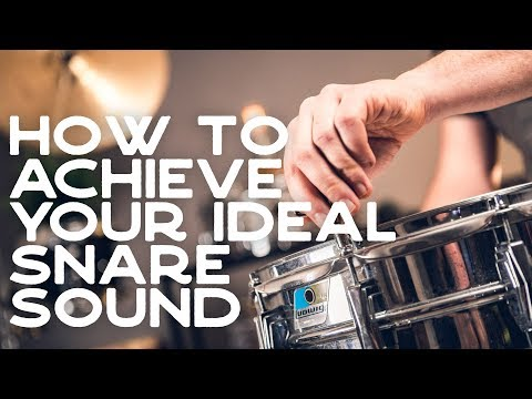 Ep. 1 How To Get A Great All-purpose Snare Drum Sound