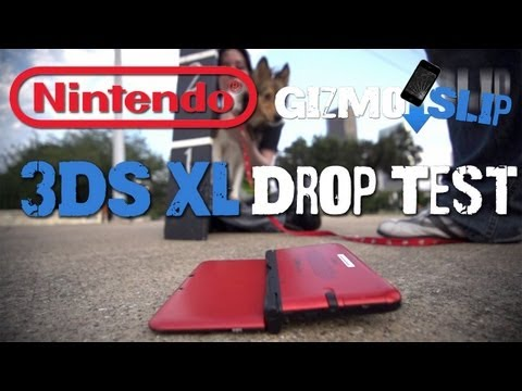 Drop Test: 3DS XL + Giveaways!