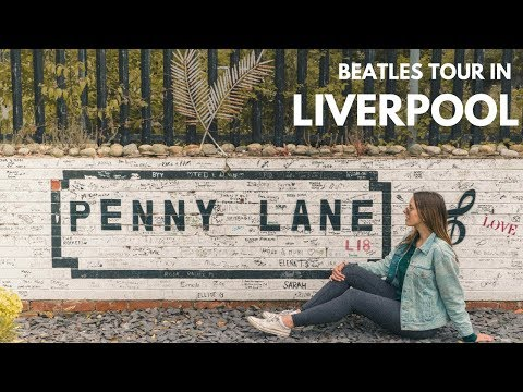 BEATLES TOUR In LIVERPOOL ENGLAND