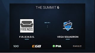 F.R.I.E.N.D.S. vs Vega Squadron, Game 2, The Summit 6 Qualifiers, Europe