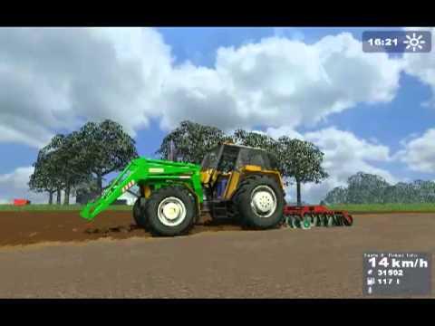 Landwirtschafts Simulator 2009 Uprawy pól 2010 Zetor Ursus Unia