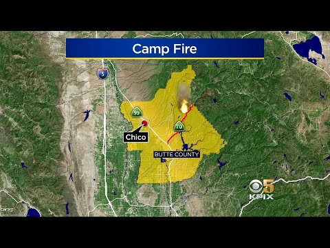 Wildfire Near Chico Grows To 8,000 Acres; Mass Evacuations Ordered