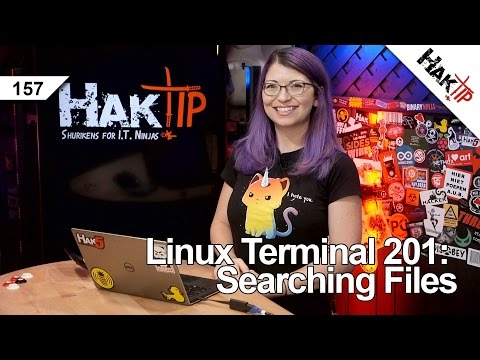 Linux Terminal 201: Searching and Locating Files - HakTip 157