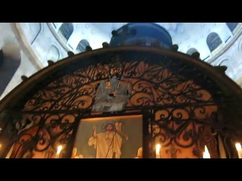 Franciscan Solemn procession in the Holy Sepulchre 2016: Aurora caelum purpurat