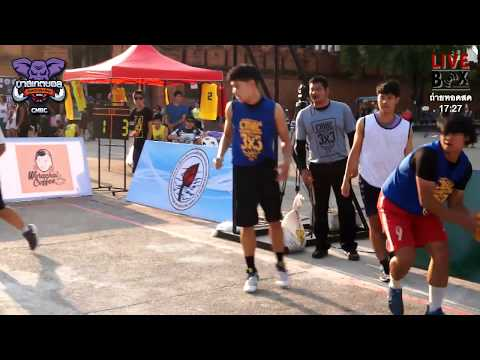 Chiang Mai Basketball Club l STREET BASKETBALL 3x3 2017 (29 เม.ย 2560) (PART1)
