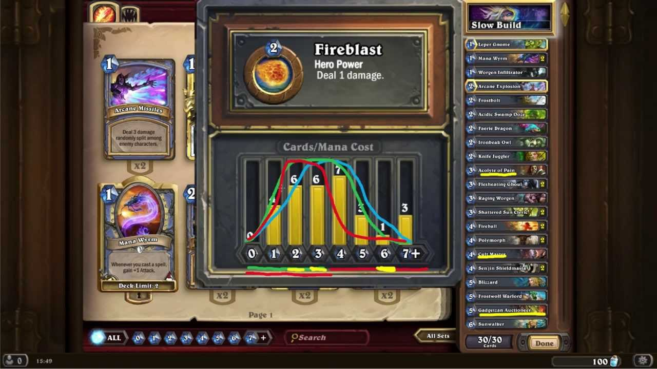 how to build a good hearthstone deck