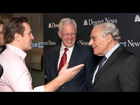 Elder Christofferson Discusses Lessons From Watergate With Famed Journalist Bob Woodward