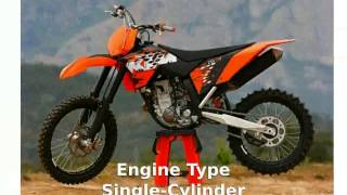 10. 2008 KTM SX 250 F Info and Specification