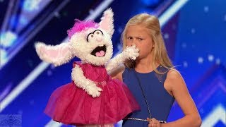 Video America's Got Talent 2017 Darci Lynne 12 Year Old Singing Ventriloquist Full Audition S12E01 MP3, 3GP, MP4, WEBM, AVI, FLV September 2017