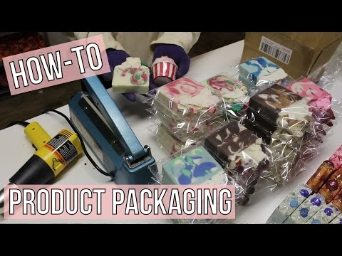 How To : Package Products | Royalty Soaps