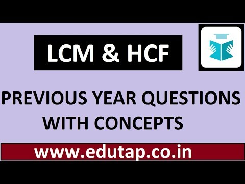 Previous Year Questions Of Lcm And Hcf | Maths Content | Ctet | Uptet | Kvs | Dssb | Pstet