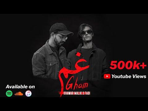 Khawar Malik - Gham (feat. FADI)   Lyrical Video   Gham EP