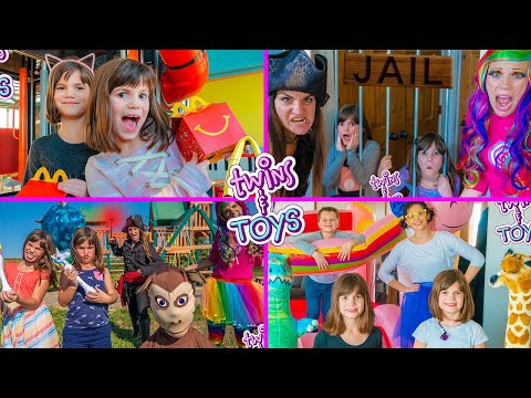 Kate and Lilly Favorite Videos with Princess Lollipop, Sunshine, and the Pirate Witch!