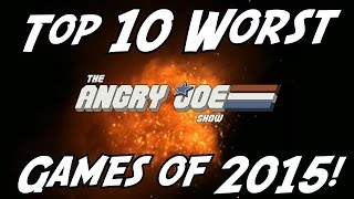 Video Top 10 WORST Games of 2015! MP3, 3GP, MP4, WEBM, AVI, FLV Juni 2018