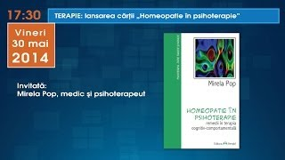 Lansare carte Homeopatie in psihoterapie de Mirela Pop - Bookfest 2014