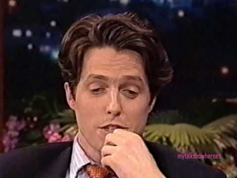 HUGH GRANT on WORKING with ROBIN WILLIAMS