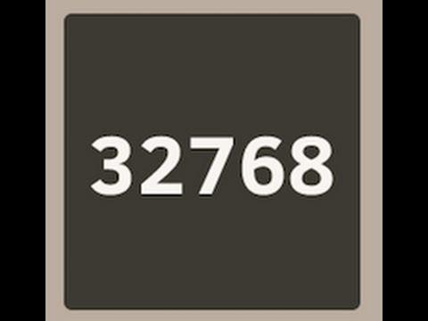 2048 Game World Record - Highest Score 453K - 32768 Tile High Score Tips & Tricks