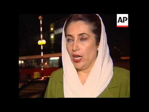 Video UK: BENAZIR BHUTTO COMMENTS ON PAKISTAN ARMY COUP (2) download in MP3, 3GP, MP4, WEBM, AVI, FLV January 2017