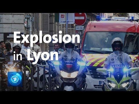 Frankreich: Explosion in Lyoner Fußgängerzone