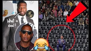 YO LOL! 50 Cent Buys Two Hundred Front Row Tickets Of Ja Rule's Show So It Would Be EMPTY!