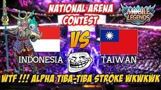 WTF !!! Alpha Langsung Struk Karena Gagal Savage Indonesia vs Taiwan National Arena Contest