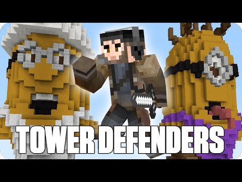 «MINIONS DE COLORES» Tower Defenders   Minecraft