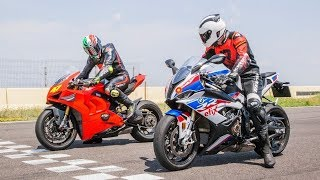 3. 2019 BMW S1000RR vs  Ducati Panigale V4R Review