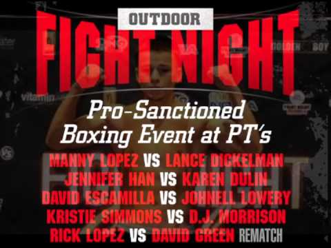 Outdoor Fight Night Commercial