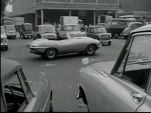 DATELINE DIAMONDS (U.K.; 1965) Jazzy Climactic Car Chase!