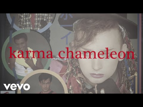 Culture Club - Karma Chameleon (Official Lyric Video)