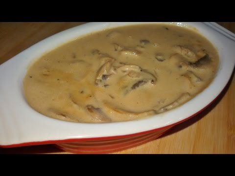 Mushroom Sauce The Best Recipe - Make It Easy Recipes