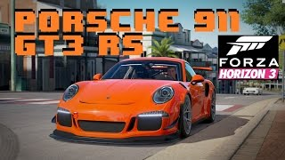 Porsche 911 GT3 RS which just came out today with the Porsche car pack in Forza Horizon 3. I tried out the Porsche 911 GT2 (1995) one out and i loved it (esp...