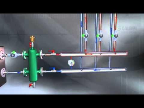 Гидрострелка для систем отопления