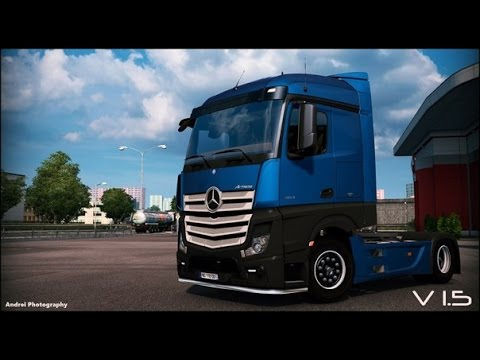 Mercedes Actros MP4 edited v1.5