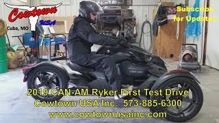 9. 2019 Ryker First Test Drive