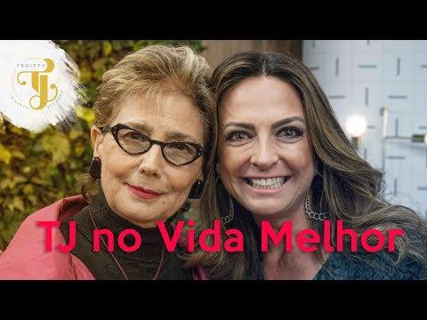 Programa Vida Melhor com Cláudia Tenório e participação do Projeto TJ