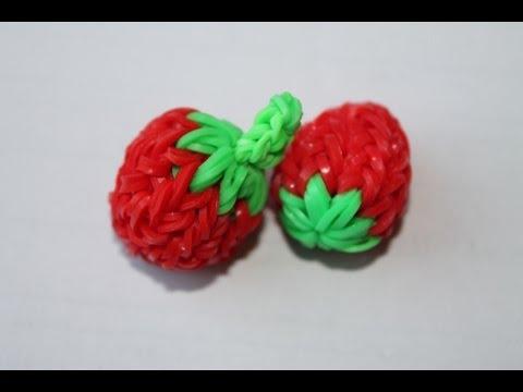 Как сделать фрукт из резинок