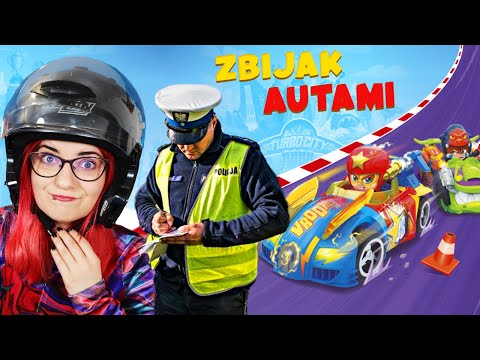 GRAM w ZBIJAKA z T-RACERS seria 2 💥 miss Aga