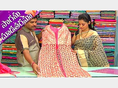 Latest-Collections-of-Lacha-Style-and-Party-Wear-Dresses-Sogasu-Chuda-Tarama-Vanitha-TV-09-03-2016