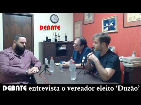 DEBATE entrevista o vereador Carlos Eduardo Gonçalves