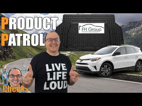 Car Suv Cargo Mat Liner Review: FH  Group F16403BLACK Trunk Liner Toyota Rav 4